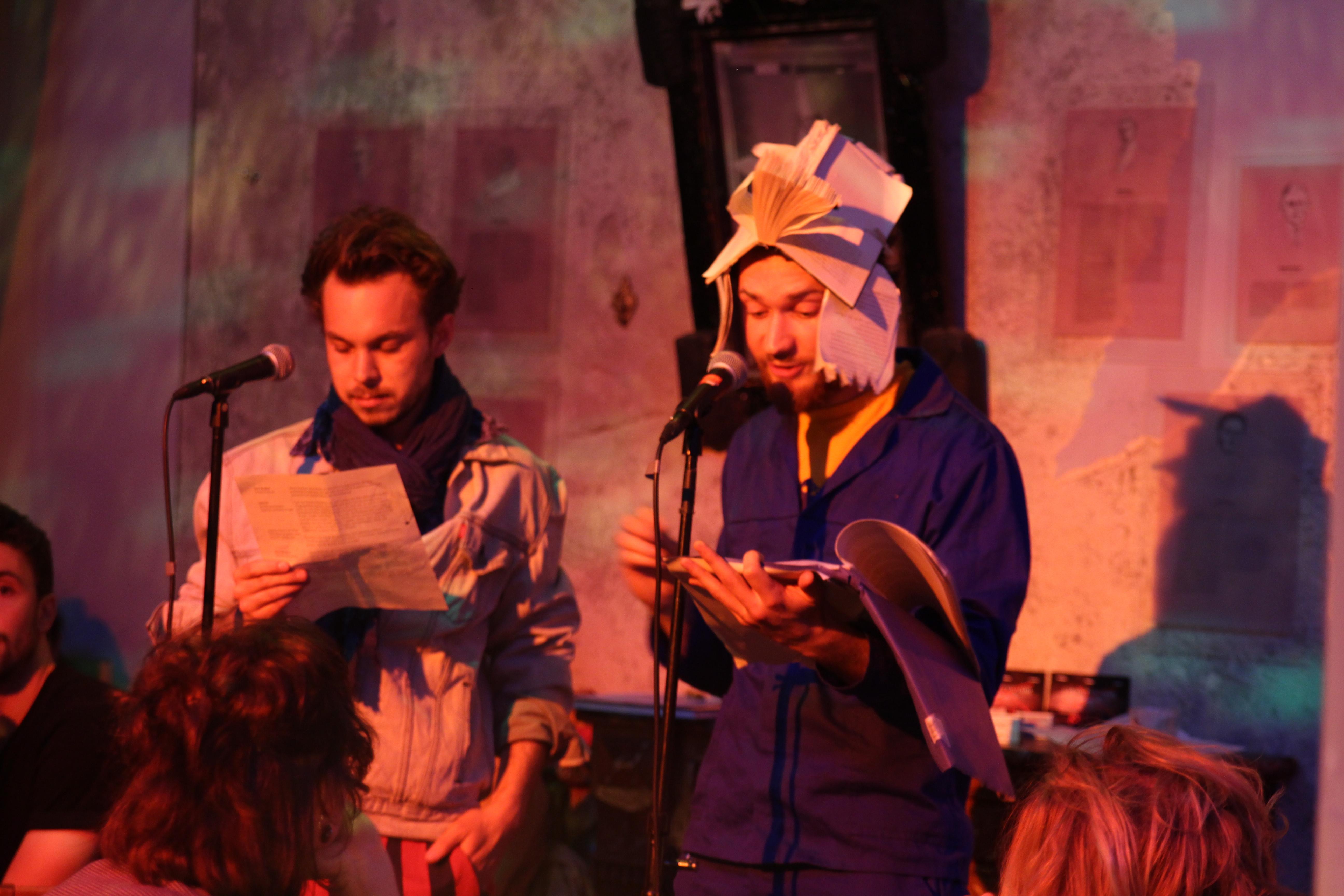 Lesung @ Kursk mit der Kursk im Cabaret Voltaire
