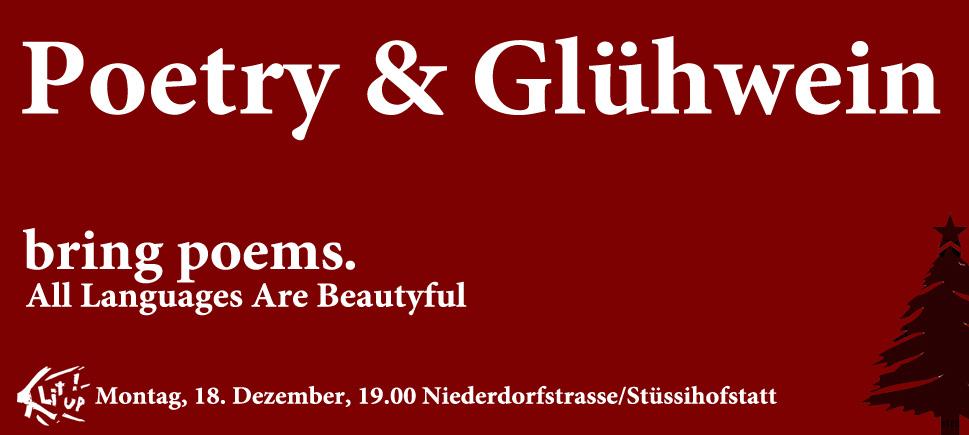 Einladung Poetry & Glühwein II